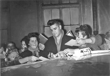 Die 1950er Jahre In M 252 Nchen Anzeigenbl 228 Tter Elvis