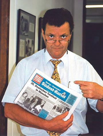 Bernd Loibl im Jahr 1998.