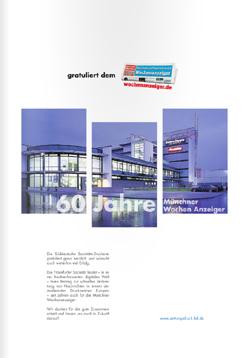 Anzeige Süddeutsche Societätsdruckerei