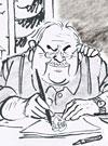 Dieter Hanitzsch, Karikaturist