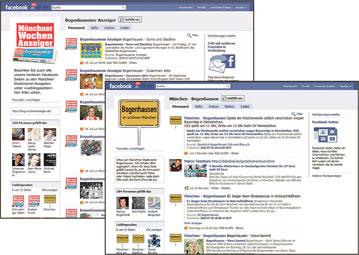 Wochenanzeiger bei Facebook