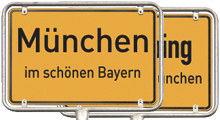 Münchner Stadtteile, Orte im Münchner Umland