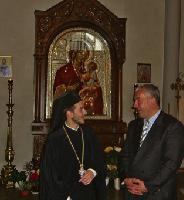 Kultusminister ludwig spaenle ließ sich von pfarrer archimandrit