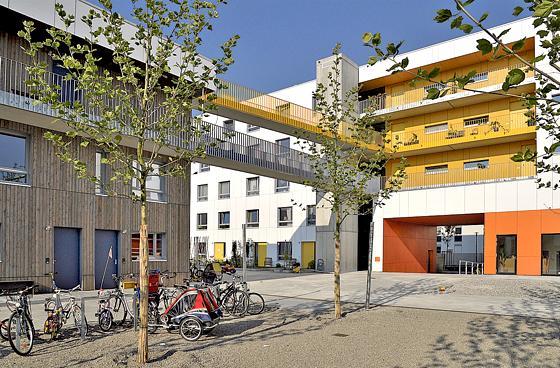 Messestadt Riem Ortsbegehung Junge Wohnbaugenossenschaften
