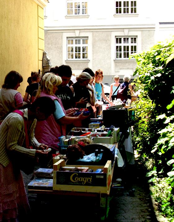 Munchen Pionier Schwabinger Hofflohmarkte Saisonstart In