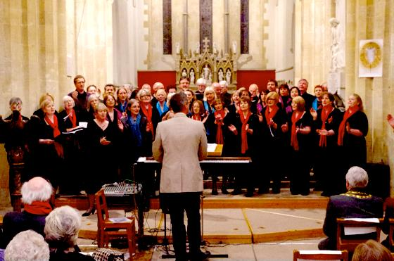 Konzert in St. Mary's/Witney