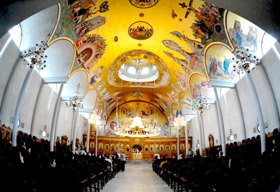 Orthodoxe Weihnachten.Munchen Orthodoxe Weihnachten Griechen Feiern