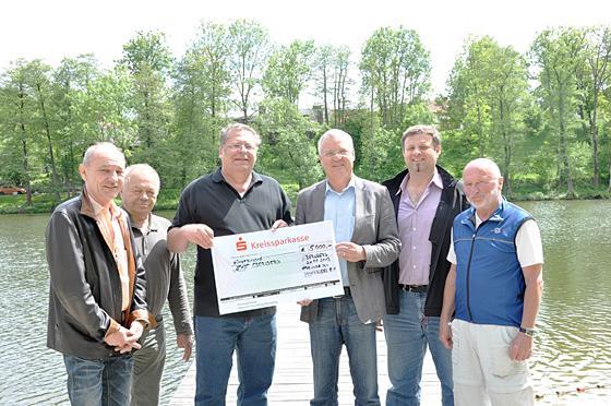 Nordfranz Sisches Becken ebersberg 183 rund ums becken 5000 f 252 r bepflanzung am klostersee