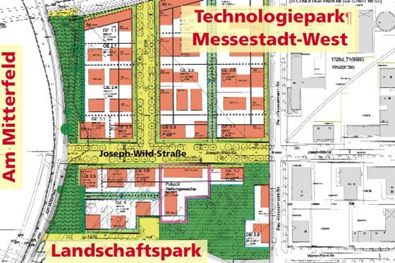 Messestadtkirchtrudering Letzte Ausbauphase Viele Wünsche