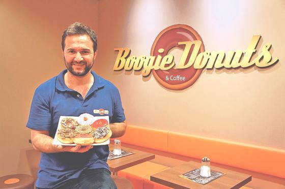 Neu im pep: »Boogie Donuts« bietet süße und herzhafte