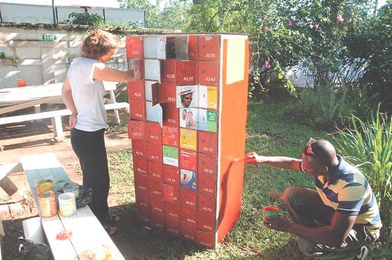 freimann k nstlerische zusammenarbeit auf zwei kontinenten mohr villa trifft ghana. Black Bedroom Furniture Sets. Home Design Ideas