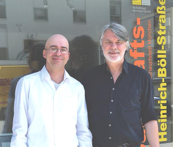 Die beiden Heilpraktiker für Psychotherapie Brahim Haydn und Helmut Bundschuh stehen Hilfesuchenden mit Rat und Tat zur Seite.Foto: ar