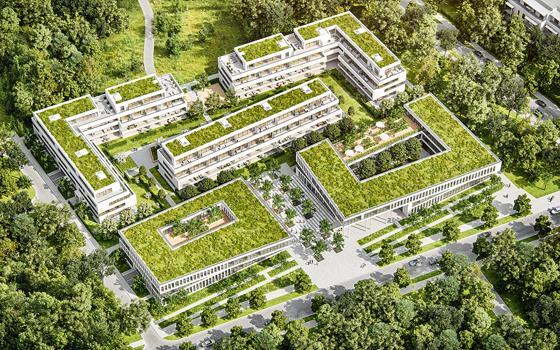Ottobrunn Zukunftsweisendes Projekt Wohnen Und Arbeiten