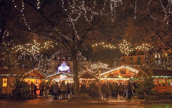 Haidhausen Weihnachtsmarkt.Einstimmen Aufs Fest Am 24 November Beginnt Der Haidhauser