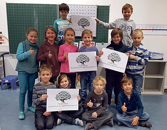 Die kleinen Grundschüler freuen sich auf viele Aktivitäten die jetzt umgesetzt werden können. F.: privat