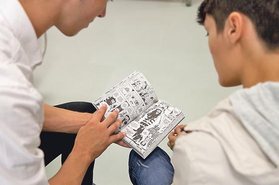 comics in der stadtbibliothek mit dem ipad gestalten workshop f r jugendliche. Black Bedroom Furniture Sets. Home Design Ideas