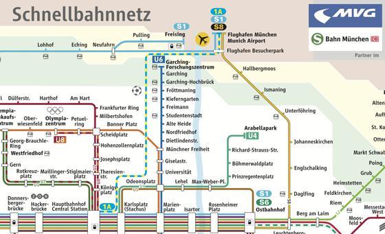 In 20 Minuten Express S Bahn Zwischen Hauptbahnhof Und
