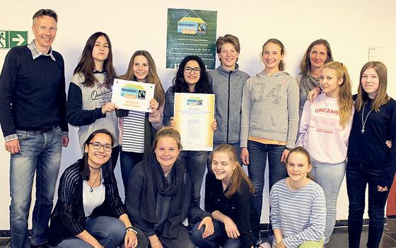 Theresia Gerhardinger Realschule München münchen au theresia gerhardinger realschule ist fair trade für eine gerechtere welt