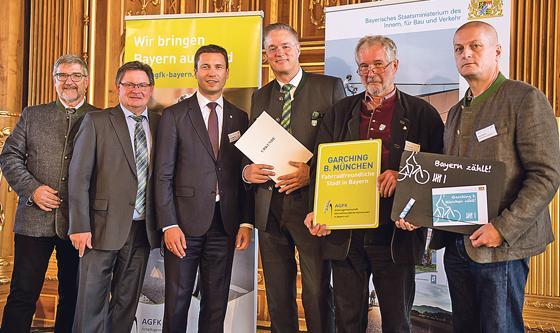Stadt garching als fahrradfreundliche kommune for Dietmar haas