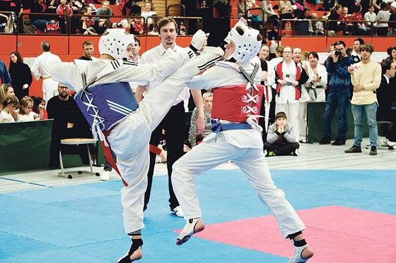0c8c84c1add1d Beim Neubiberger Cup holten die Taekwondo-Kämpfer stolze 21 Medaillen.  Foto  TSV Neubiberg