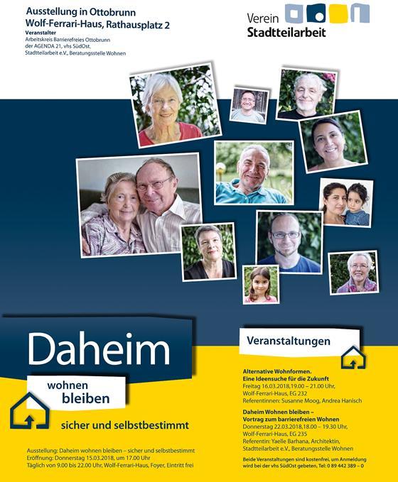 ottobrunn selbstbestimmt zuhause ausstellung daheim. Black Bedroom Furniture Sets. Home Design Ideas