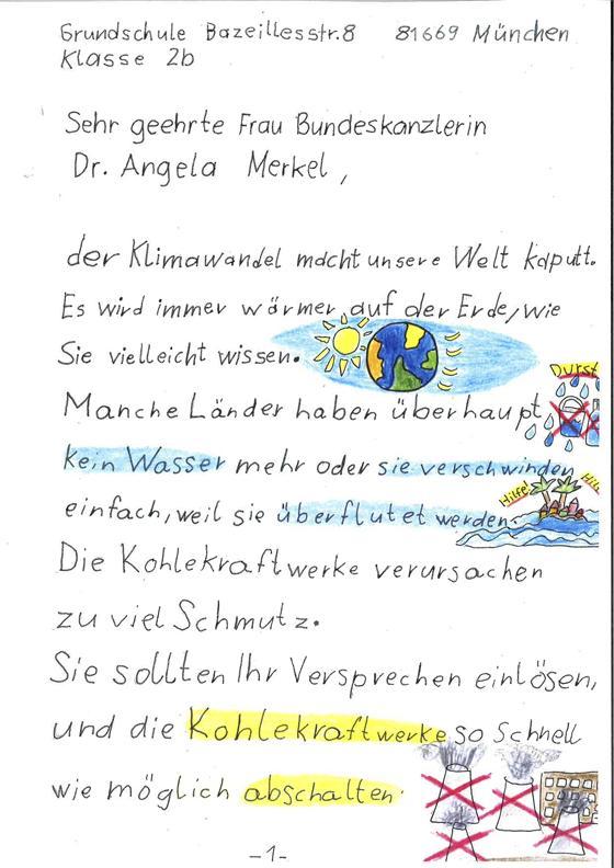 Frau Merkel Bitte Schützen Sie Die Umwelt Warum Haidhauser