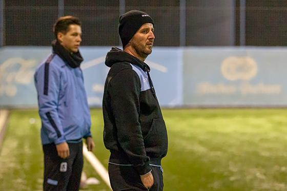 Trainingsauftakt: Amateur-Trainer Andreas Kopfmüller. Archivfoto: Anne Wild