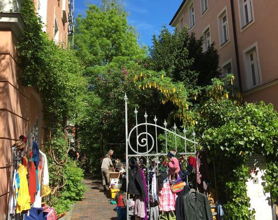 Munchner Hofflohmarkte In Der Au Untergiesing Und