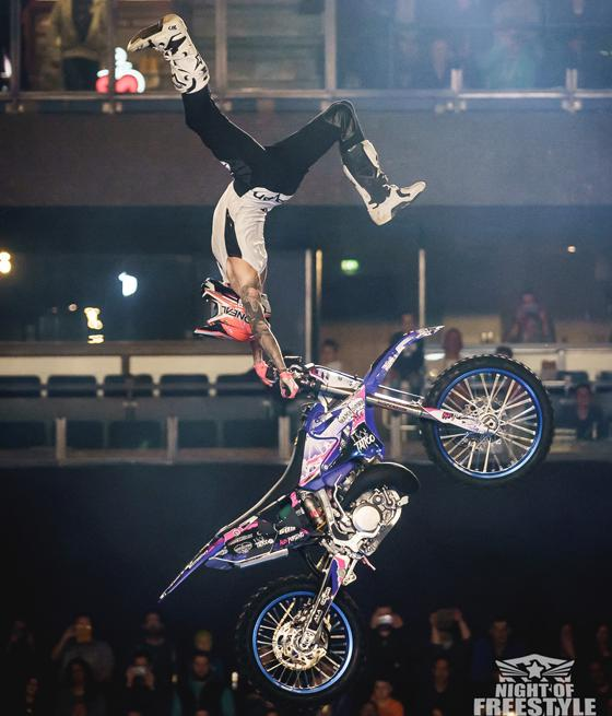 Night Of Freestyle Super Heroes Tour